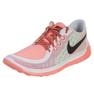 Nike 5.0 Pink Pow Lava Glow Black and White